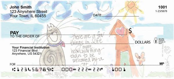 Home Sweet Home Personal Checks | AMY-17