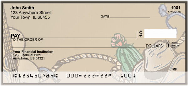Cowboy Country Personal Checks | BBA-07