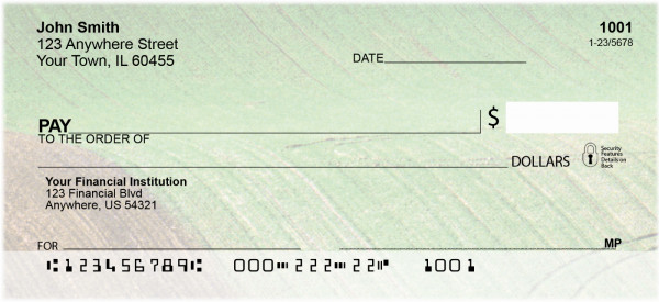 Fields In Spring Personal Checks | BBA-09