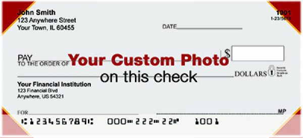 Custom Photo Personal Checks | CUS-01