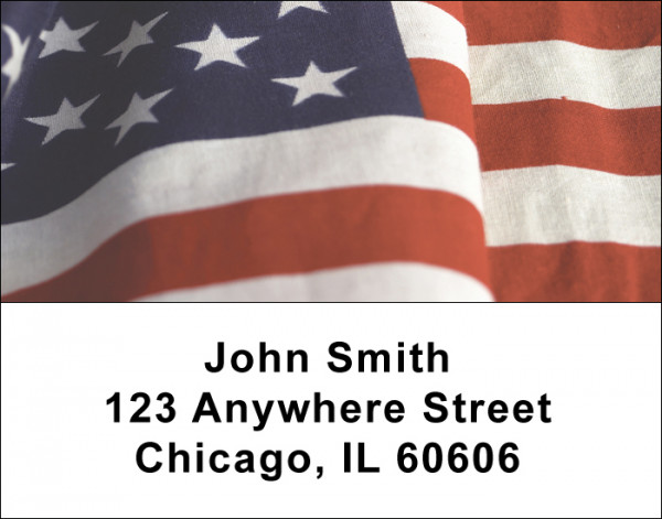 American Pride Address Labels | LBVAL-10