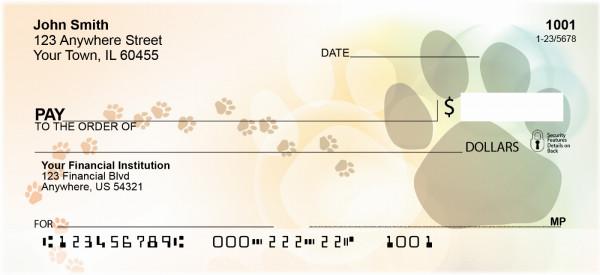 Playful Paw Prints Personal Checks | QBB-82