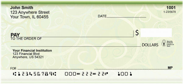 Cool And Collected Personal Checks | QBR-43