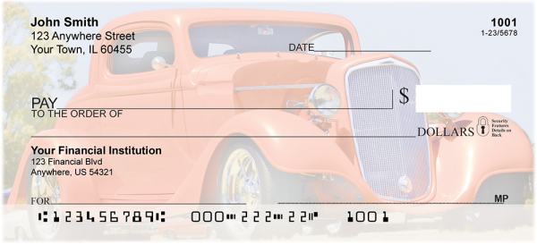 Hot Rods Personal Checks | TRA-11