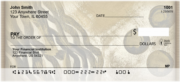 African Inspirations Personal Checks | ZABS-45