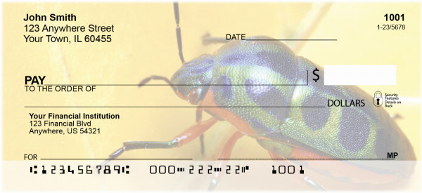 Beetles Personal Checks | ZANI-45