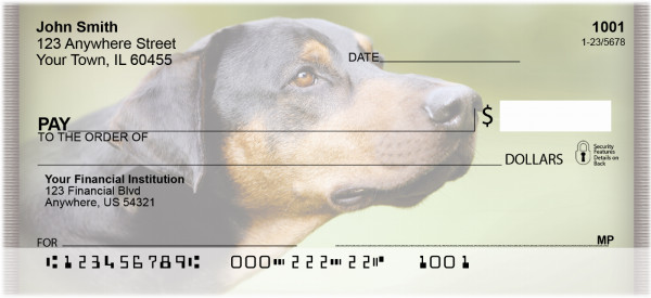 Doberman Personal Checks | ZANI-62