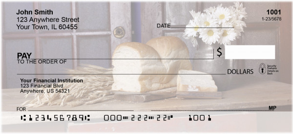Country Kitchen Personal Checks | ZFOD-05