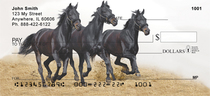 Black Stallions Personal Checks