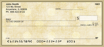 Vintage Dots Personal Checks