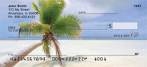 Palms On Beach Personal Checks