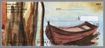 Canoe In Fall Personal Checks
