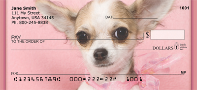 Chihuahua Princess Personal Checks