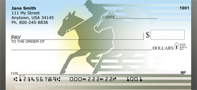 It Is A Horse Race Personal Checks