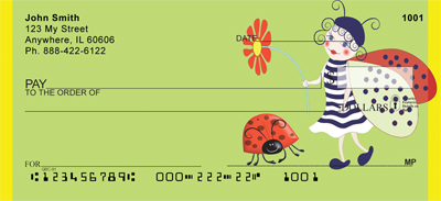 Lucky Ladybug Fairy checks