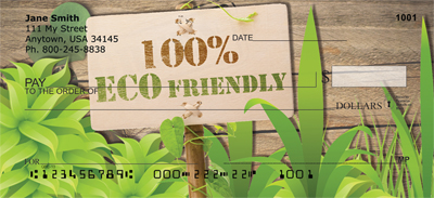Eco Friendly Personal Checks