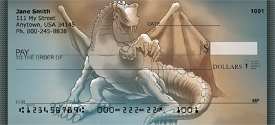 Dashing Dragons Personal Checks