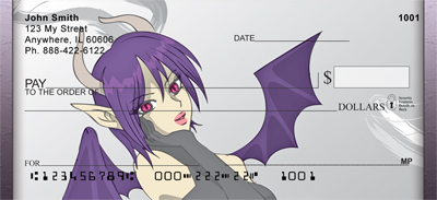 Sexy Devil Personal Checks