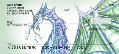Moods Of A Dragon Personal Checks