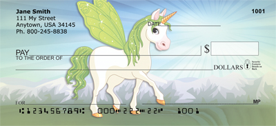 Little Pony magic Personal Checks