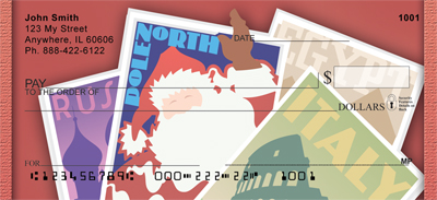 North Pole Passport Personal Checks