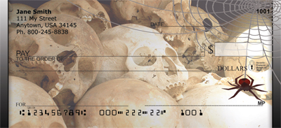 Skull Capture Personal Checks