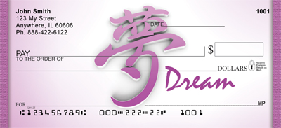 Asian Dream Personal Checks