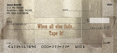 Tape It Personal Checks