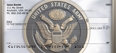 Army Emblem Personal Checks