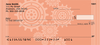 Petals And Metals Personal Checks
