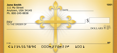 Celtic Crosses Personal Checks