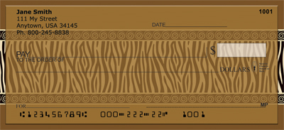 Celebrate African Style Personal Checks