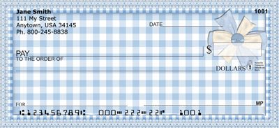 Country Gingham Personal Checks