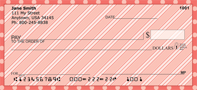 Delicious Designs Personal Checks