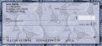 Pure Paisley Personal Checks