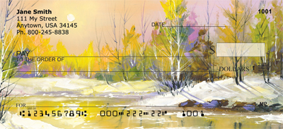 Serenity In Four Seasons Personal Checks