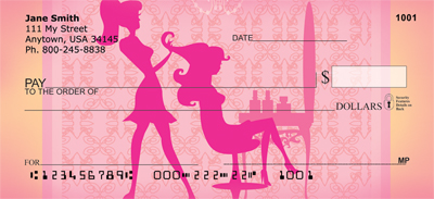 Girly Stylin' Personal Checks