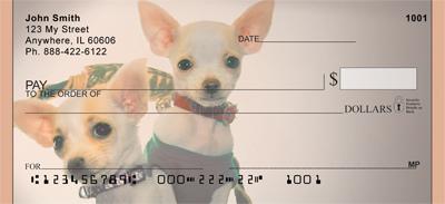 Chihuahua Mania Personal Checks