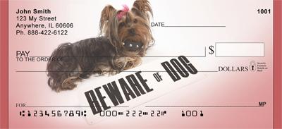 Beware Of Yorkie Dog Checks