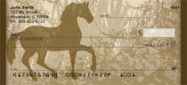 Golden Pony Personal Checks