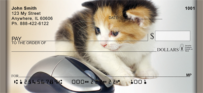 Cat And Mouse Personal Checks - 1