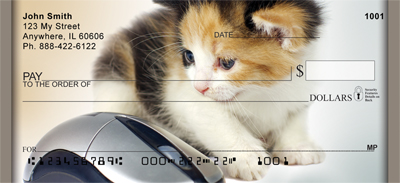 Cat And Mouse Personal Checks - 2