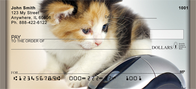 Cat And Mouse Personal Checks - 3