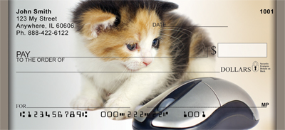 Cat And Mouse Personal Checks - 4