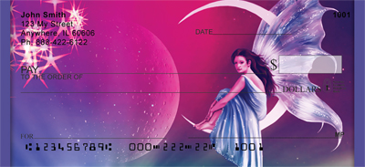 Wishing On A Star fairy personal checks