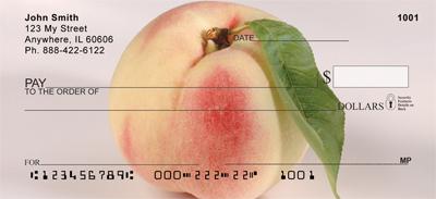 Georgia Peaches Personal Checks