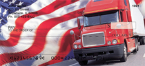 Patriotic Truckers Personal Checks