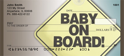 Baby On Board Personal Checks - 1