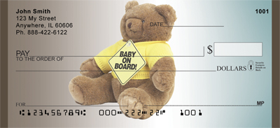 Baby On Board Personal Checks - 2