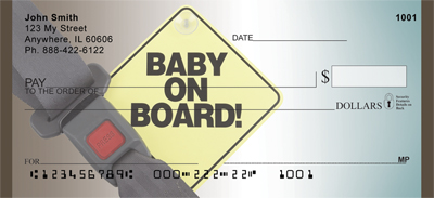 Baby On Board Personal Checks - 3